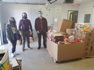 SpinDance Volunteer and Give to Kids Basket